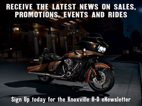 Newsletter signup at Bootlegger Harley-Davidson®